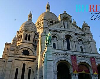 Digital Download | Sacre Coeur | Paris | France | Digital Photo | Instant Download | Printable Art | Decor | Photograph | Montmartre
