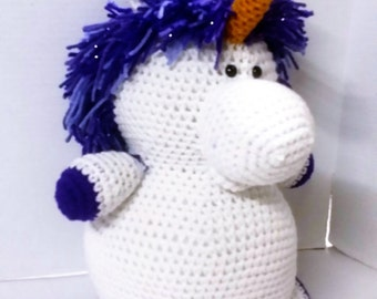 Unicorn/Mystical Animal/Amigurumi/Stuffed Animal/Mystical Creature/Plush Animal/Safe toy for Toddler and Children/Toy Unicorn/Stuffed Toy