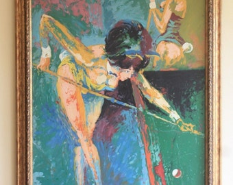 Leroy Neiman - The Playboy Suite - Reproduction Oil Painting