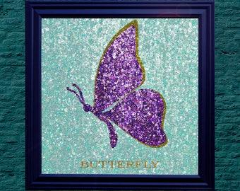 Butterfly - 8x8 HD Digital Print