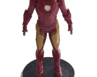 Ironman Figure Plastic Toy