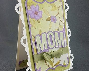 Handmade Yellow Daisies Mothers Day Card