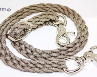 Wither Strap  TAN braided horse tack paracord horse tack