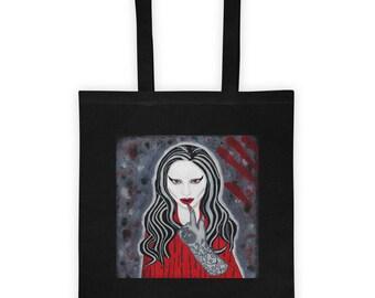 American Horror Story Tote Bag / Lady Gaga Tote Bag / Lady Gaga Glove / American Horror Story Art / Lady Gaga Art / Vampire Tote Bag