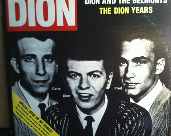 Dion And The Belmonts The Dion Years Vinyl Doo Wop 2 Record Album Set