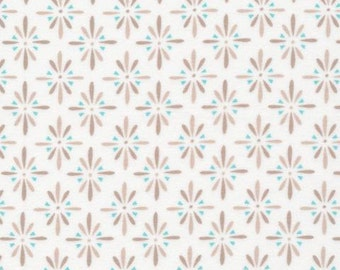 Burst Gray (Taupe) - Cloud9 Flannel - Cloud9 Fabrics - Organic Cotton - Flannel by the Yard