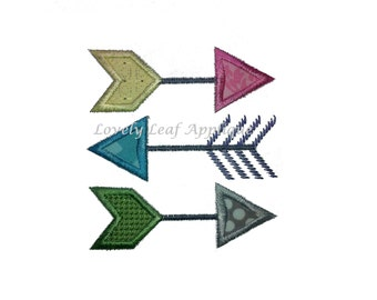 DIGITAL ITEM: Arrows Applique Design 4x4 and 5x7