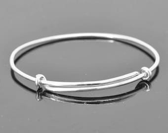 Adjustable Bangle, adjustable Jewelry, adjustable Bracelet, Sterling Silver Bangle, Sterling Silver Bracelet