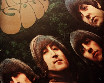 The Beatles Rubber Soul, Vintage Vinyl, Capitol Record, Stereo Sound,  Made in USA, 1965 Release