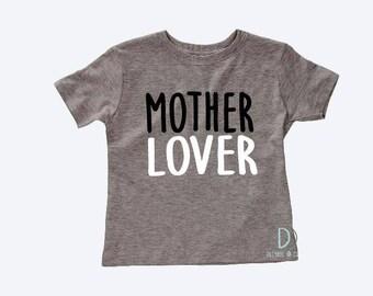 Mother Lover tshirt | kids shirt | kids tshirt | cute shirt | girls tshirt | boys tshirt | toddler shirt | love my mom