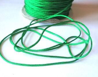 5 m 1.5 mm Green nylon string