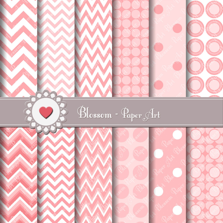 Papeles decorativos rosa papeles para imprimir rayado y - Papeles decorativos pared ...