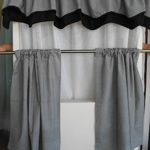 Kitchen Curtains, Bathroom Curtains, Window Treatments, Valance, Cafe  Curtains, Curtain Teirs