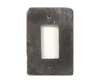 GFCI GFI Black Outlet cover Light switch cover Decorative switch plates Outlet  switch plate Decorative outlet covers Wall decor Accents