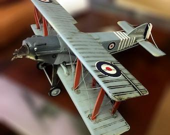 "Authentic British ""Handley Page Heyford"" Heavy Night-Bomber Toy Plane"