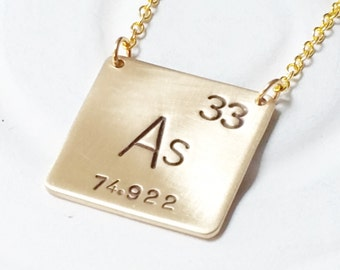 Element jewelry etsy periodic table element urtaz Image collections