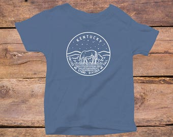 Kentucky State Design - Eco Tri-Blend Infant T-Shirt