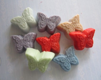 Scented Wax Melts - Springtime Butterfly - Shape Candle Melts Set -2oz