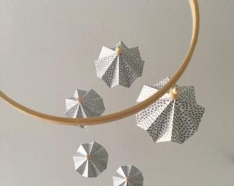 Baby Mobile - Custom Made - 5x Paper Diamonds