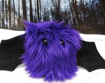 Violet The Scrappy Bat Stuffed Animal, Plush