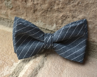 Grey and white bow tie,grey bow tie for boys,bow tie,bow ties for boys
