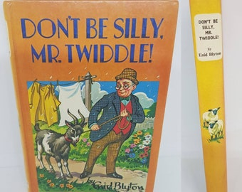 Enid Blytons Don't be Silly Mr Twiddle 1971 edition published by Dean and son Ltd london
