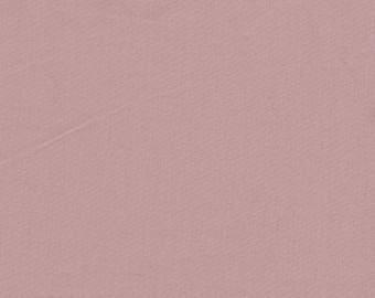 100% cotton percale dusky pink color