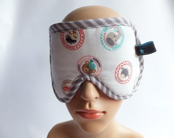 Sleeping mask, sleeping glasses animals