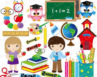worms clip art etsy rh etsy com digital clock clipart for teachers free digital clipart for teachers