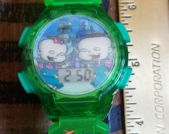 Vintage Rugrats  Talking Watch Phil and Lil