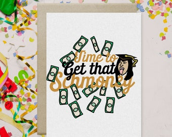 Cardi B Graduation Card-  Greeting Card-Graduation Card-Celebrity Card- Hip Hop Graduation Card