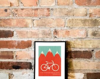 Conquer // Print of a Graphic Design //