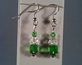 Beaded Earrings - Affordable Jewelry - Gift for Her - Beaded Jewelry - Dangle Earrings -  Handcrafted - Handmade - Gift under 10
