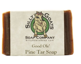 Pine Tar Soap, Eczema Soap, Psoriasis Soap,Tar Soap, Tar Bar