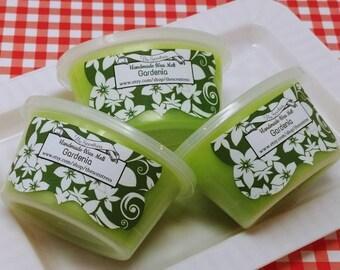 Gardenia Scented Wax Melt - Highly Scented Wax Melt - Sliceable Scented Wax Melt - Candle Melt Cup - Wax Shot - Wax Tart