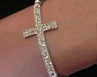 Cross and Love Bracelets