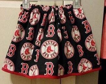 Blue Boston Red Sox skirt