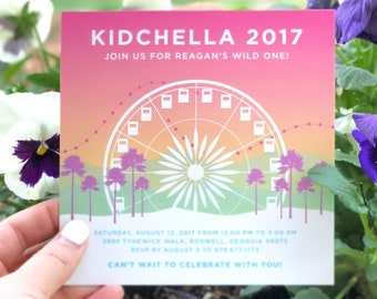 Kidchella Invitation