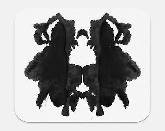 Psychologie cadeaux tapis de souris Rorschach tache d'encre au bureau décor