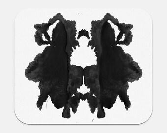 Psychology Gifts Mousepad Rorschach Inkblot Office Decor