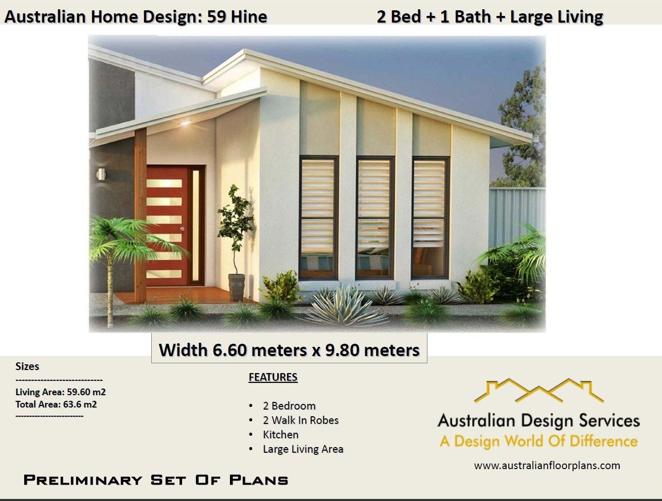 Australian Granny Flat Design Hine 59 m2   678 sq foot   2 Bedroom on contact design, build design, study design, chat design, tear design, drink design,