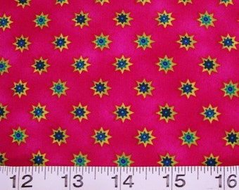 "Timeless Treasures Quilting Fabric "" Sunbursts"" Sold by the HALF Yard"