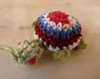 Turtle green turtle amigurumi crochet