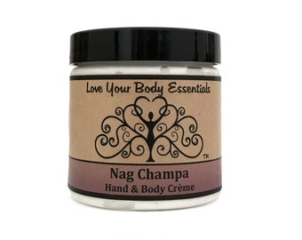 Nag Champa organic lotion natural skin care body creme lotion hand moisturizer natural hand lotion natural body butter body cream meditation