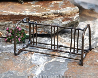 Bike Rack for Miniature Garden, Fairy Garden