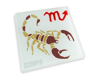 Set of 4 Scorpio Coasters