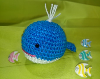 Ballena de crochet - Crochet whale - 鲸鱼钩针 - Baleine