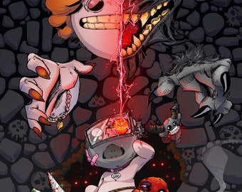 "The Binding of Isaac 11"" x 17"" Poster Print"