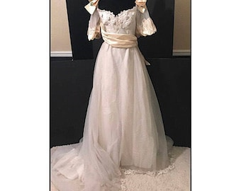 Vintage Alfred Angelo Wedding Gown