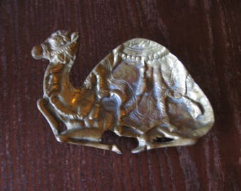 Brass Camel Tray